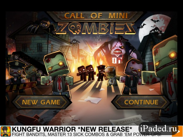 Call of Mini: Zombies для iPad