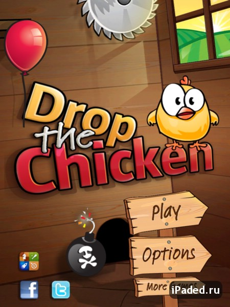 Drop The Chicken для iPad