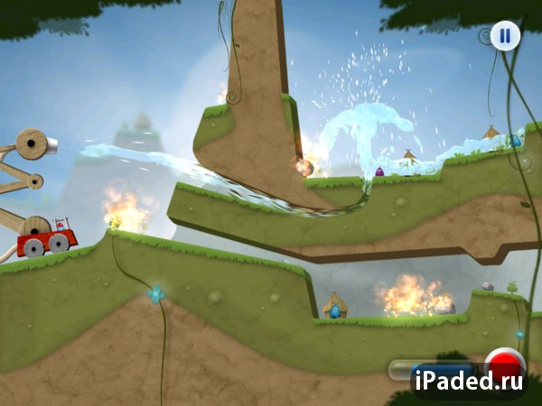 Sprinkle: Water splashing fire fighting fun! для iPad