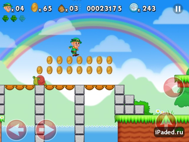 Lep's World - аналог Марио для iPad