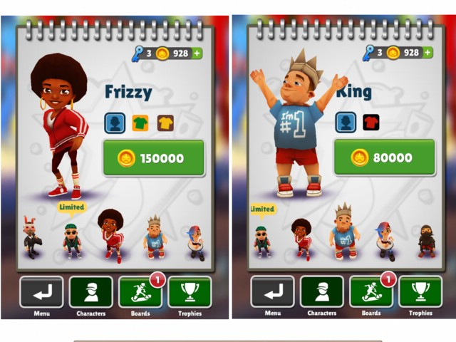 обзор игры Subway Surfers для iPad