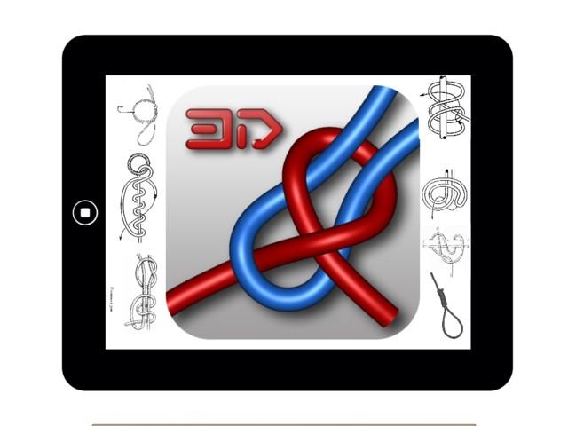 обзор приложения Knots 3D (узлы)